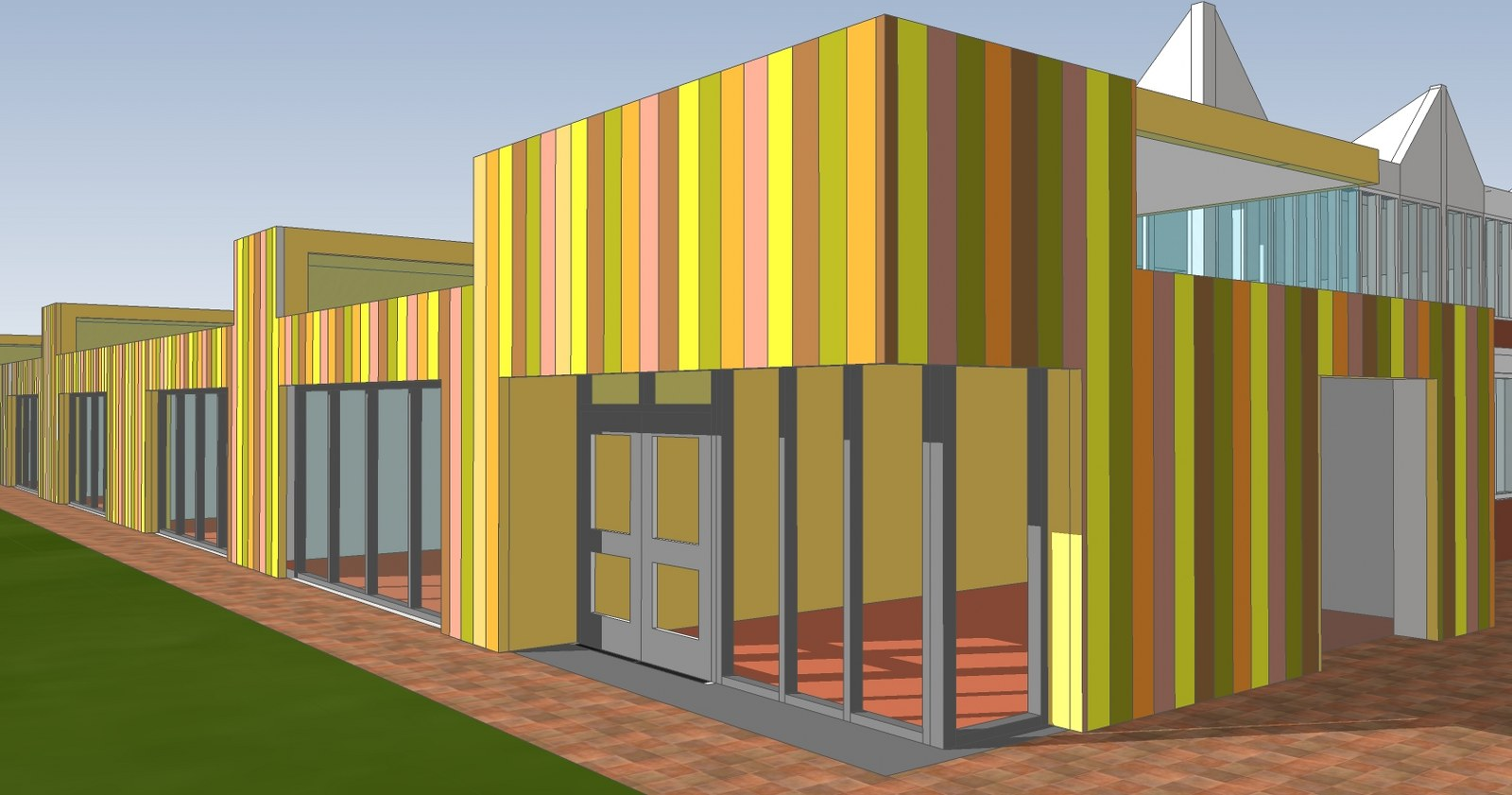 Uitbreiding schoolgebouw 't Anker