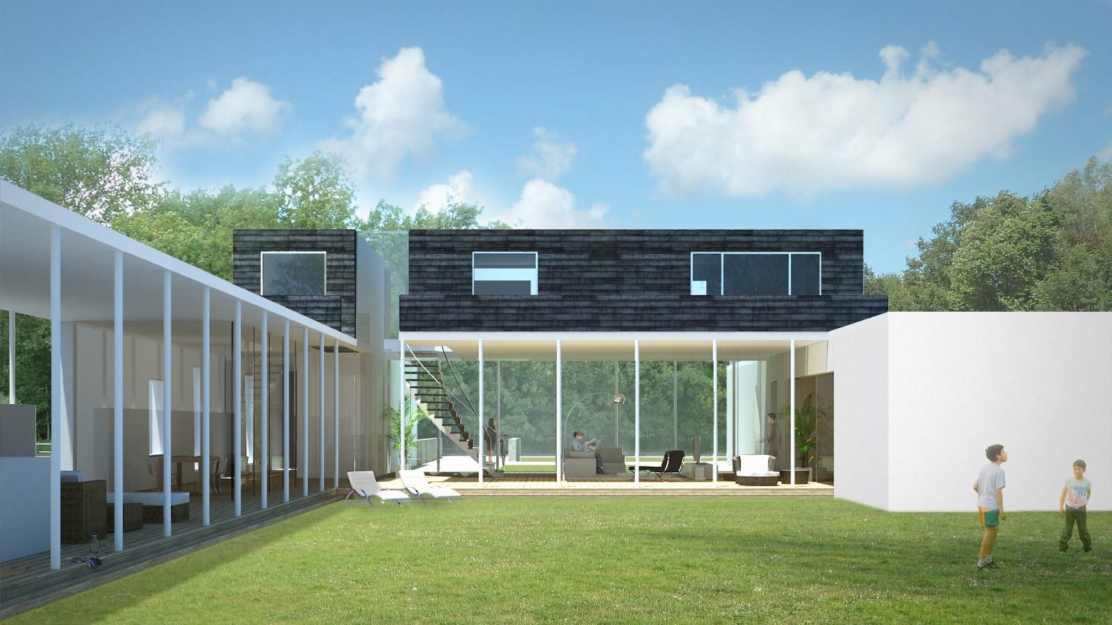 nieuwbouw luxe villa Haagwijk