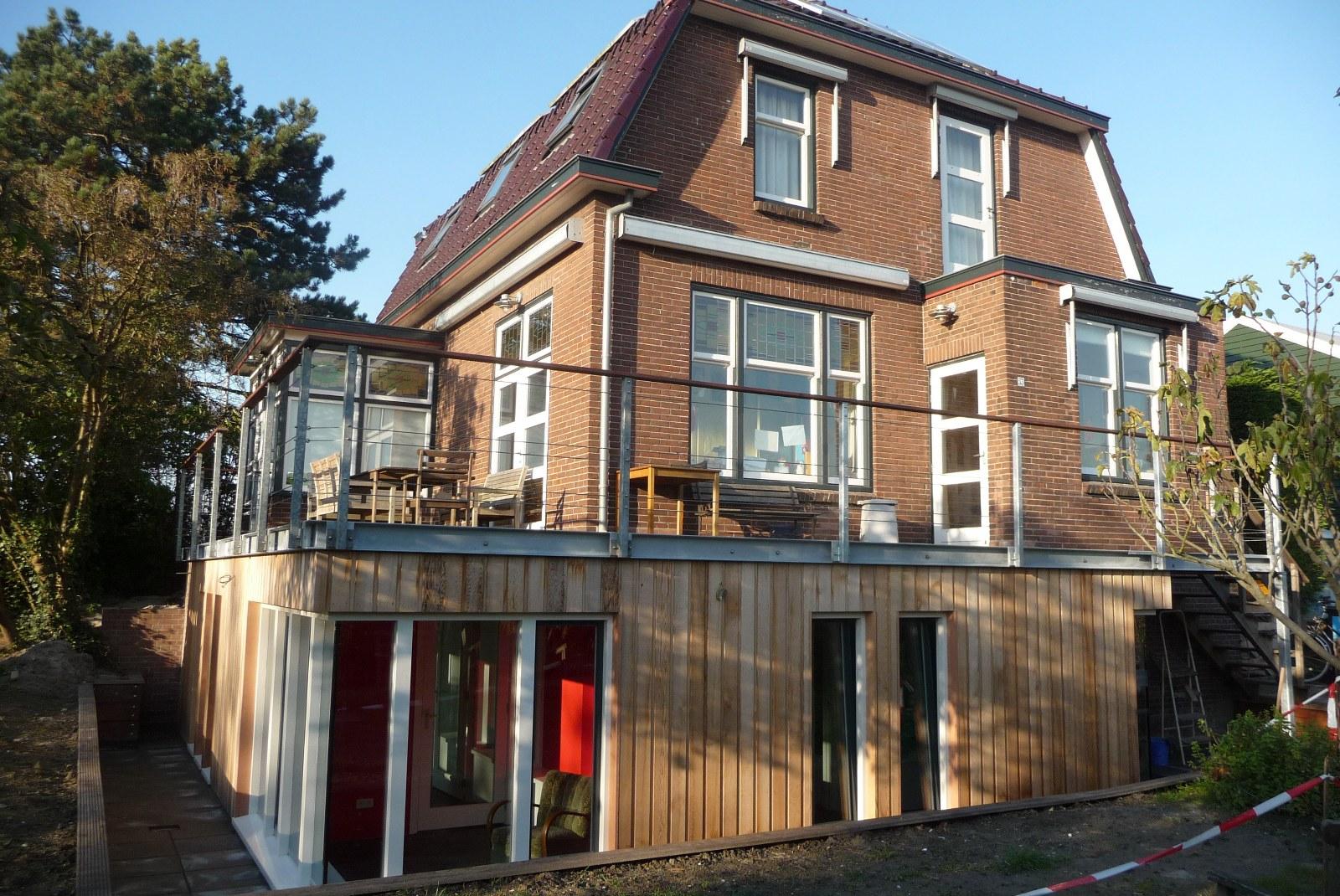 uitbreiding woonhuis Swanekampen Delfgauw