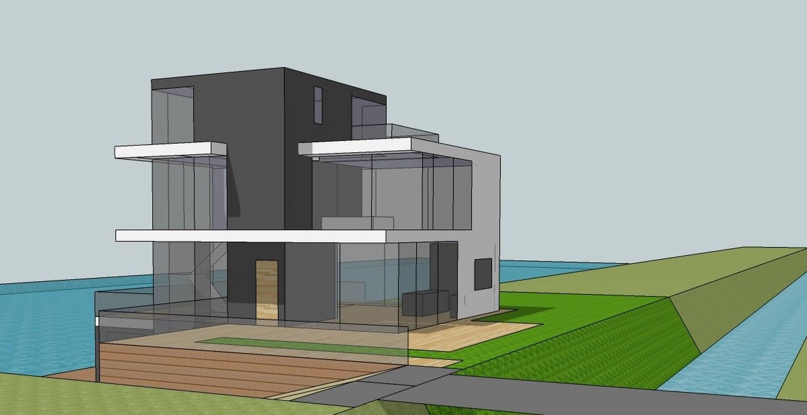 nieuwbouw woonhuis Veenweg Leidschenveen